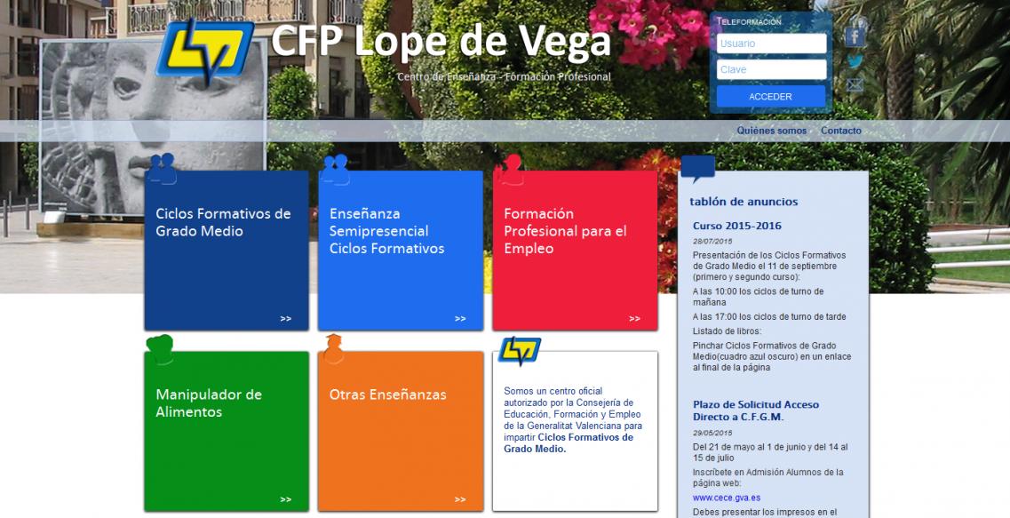CFP Lope de Vega